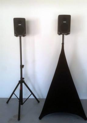 Speaker Stand Scrims
